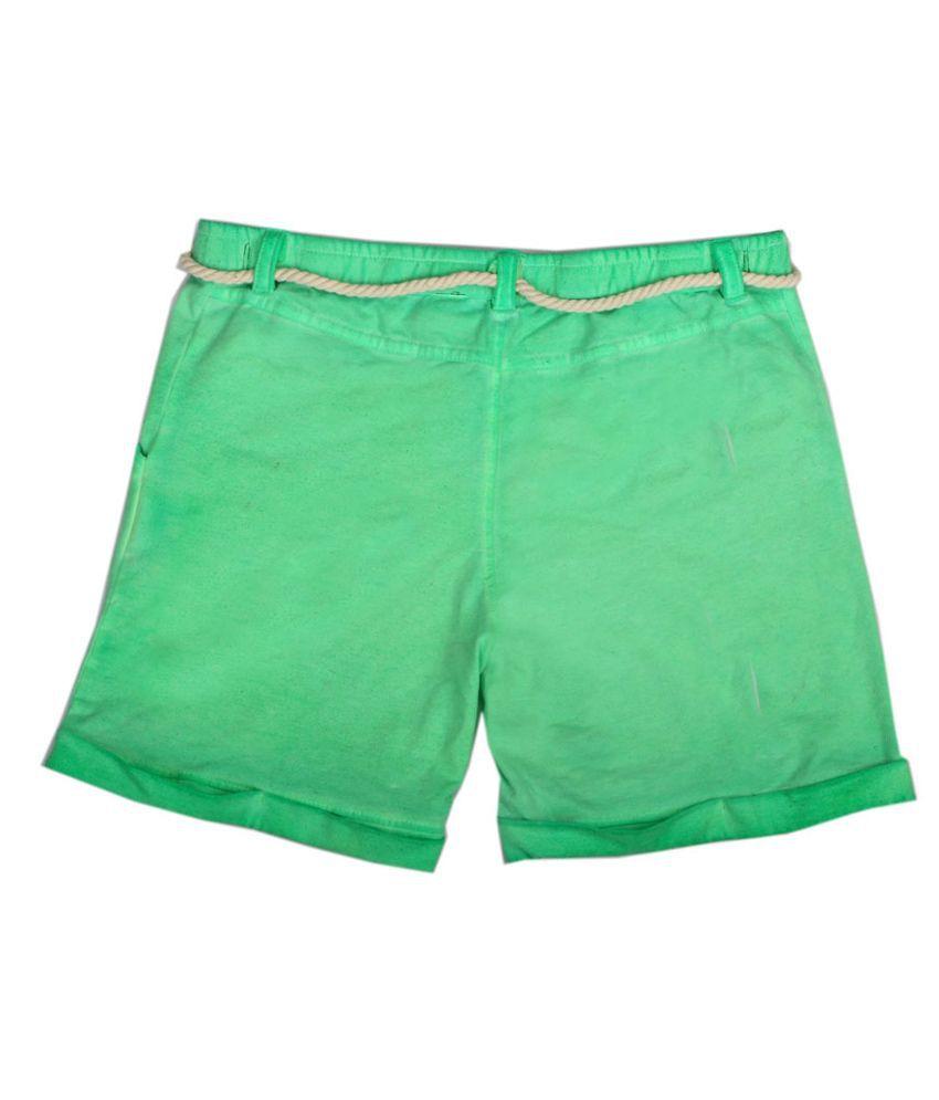 Fiore Jessy Green Shorts