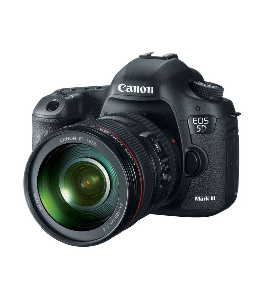 Canon eos 5d mark iii with 24 105mm lens combo canon 50mm for Canon 5d mark ii price