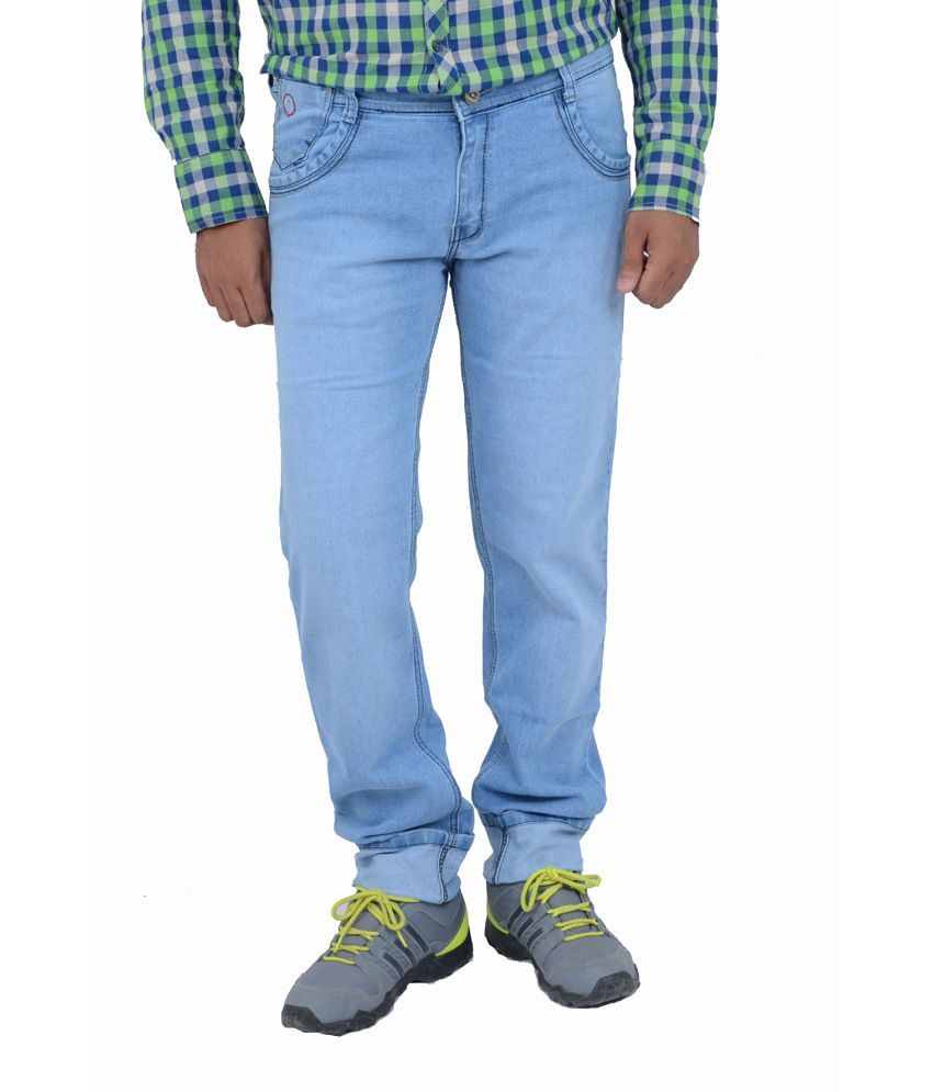 Studio Nexx Slim Fit Light Blue Jeans