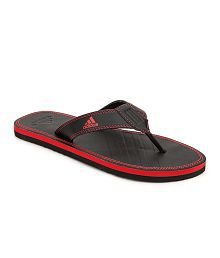 Adidas Brizo Black Red Flip Flop