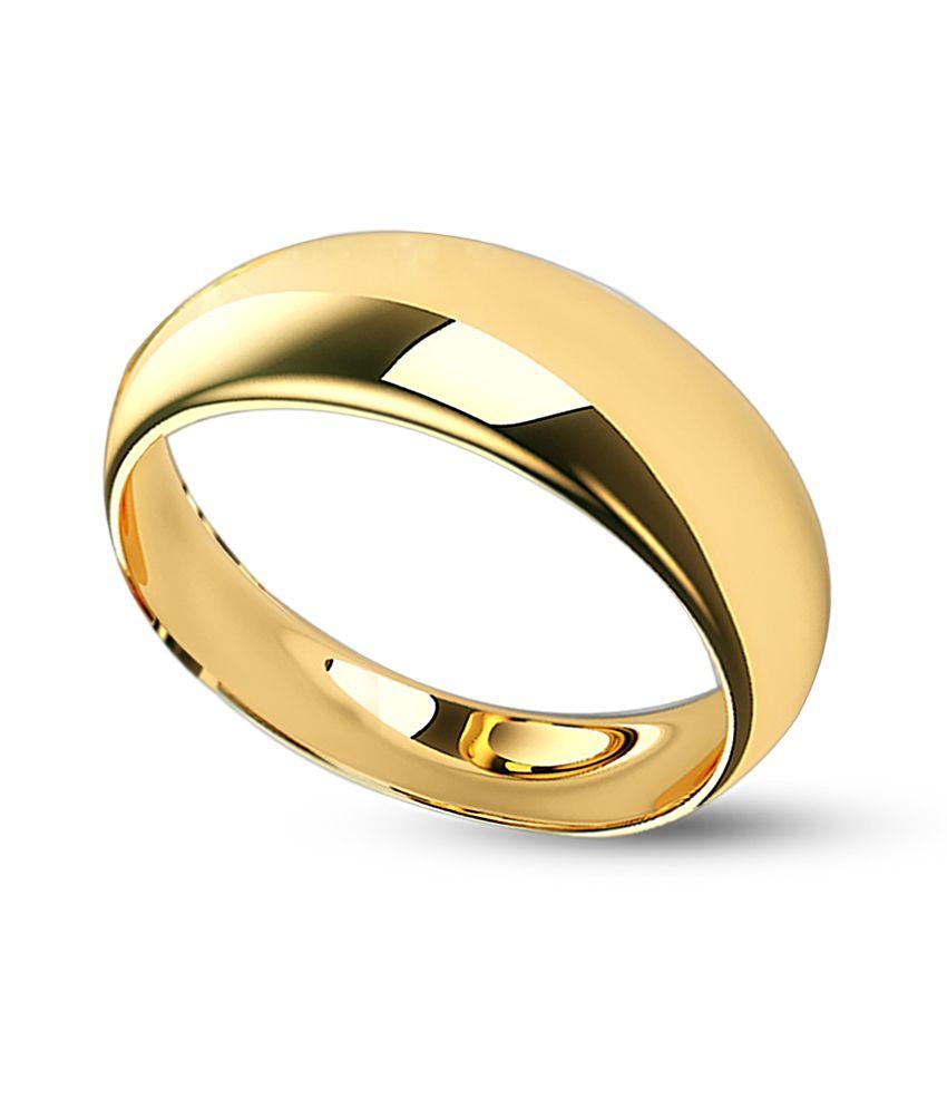 Jewelmantra 22Kt BIS Hallmark Gold Finger Ring: Buy Jewelmantra ...