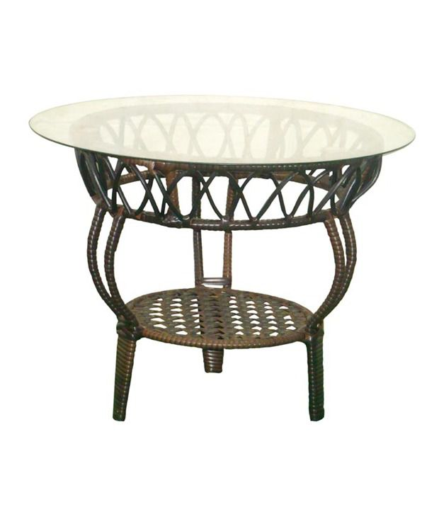 Knitted Garden Table in Brown Buy Knitted Garden Table  : Majestic Brown Natural Metal Garden SDL224955813 1 4939d from www.snapdeal.com size 620 x 726 jpeg 35kB