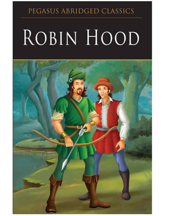 pegasus robin hood story book  buy pegasus robin hood