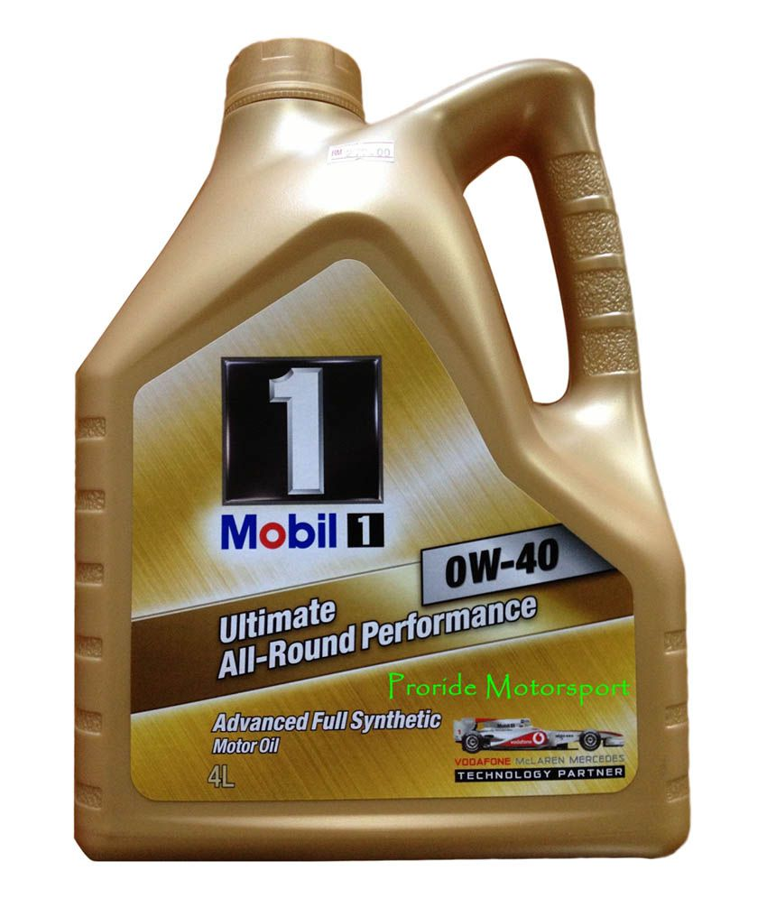 mobil one motorcycle oil