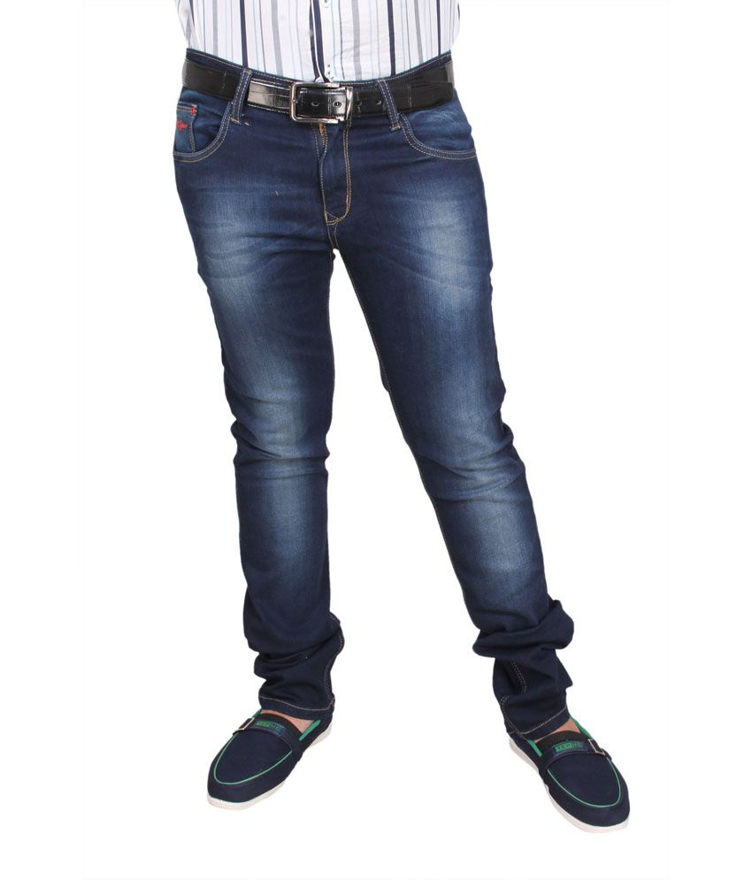 Revit Blue Slim Fit Jeans - Buy Revit Blue Slim Fit Jeans
