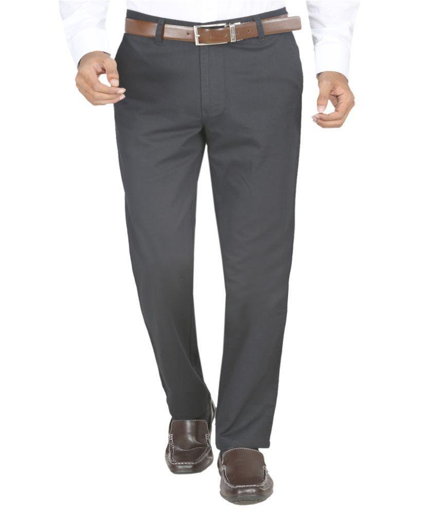 Momento Trousers Dobby Black