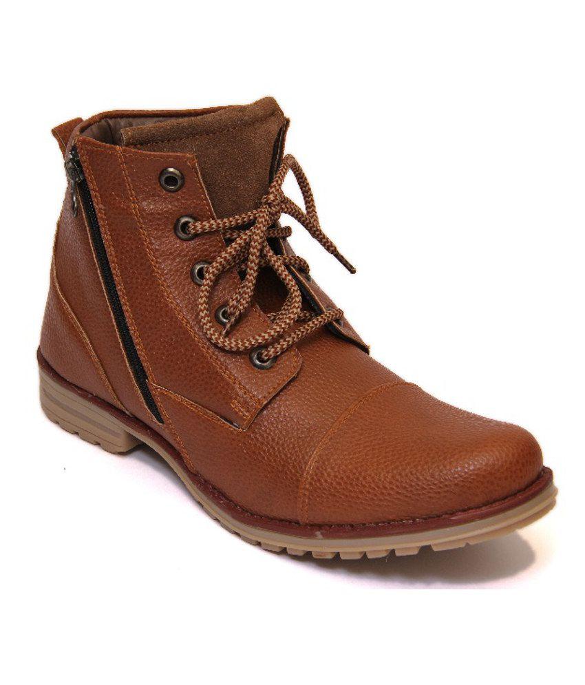 Roony Tan Boots