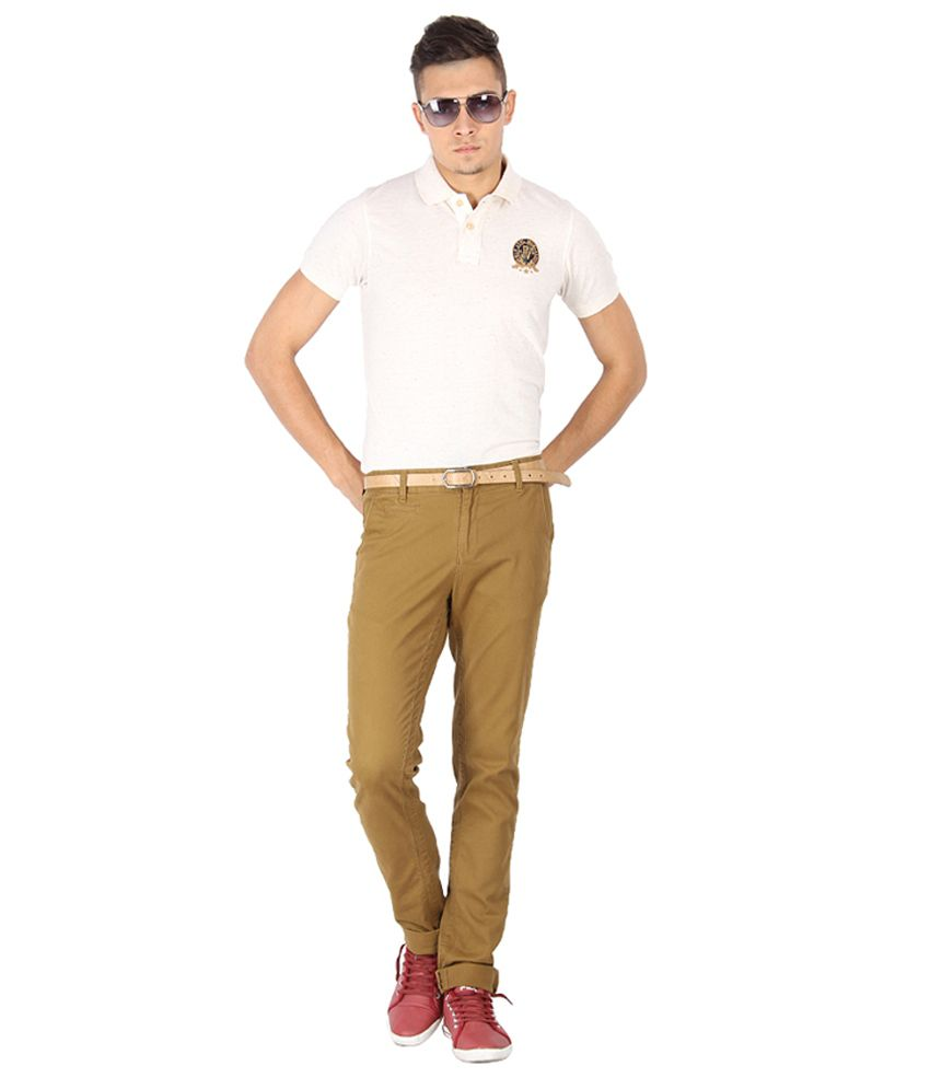 Proline Varsity White Polo T-shirt