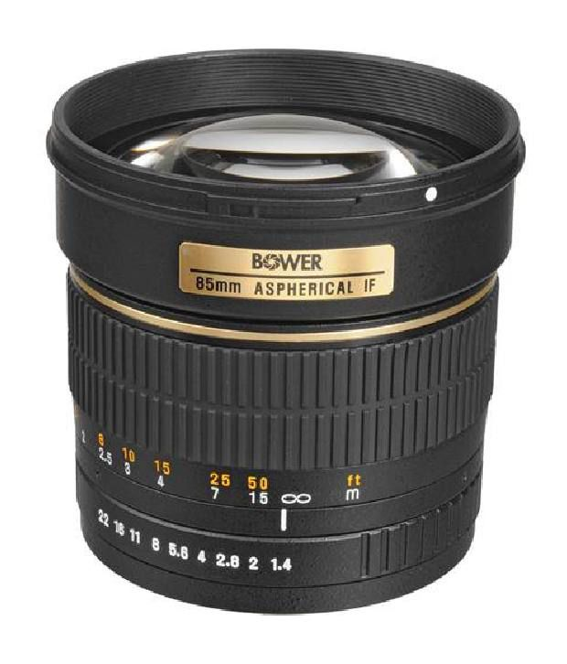 Bower Sly85p High-speed Mid-range 85mm F/1.4 Telephoto Lens For Pentax
