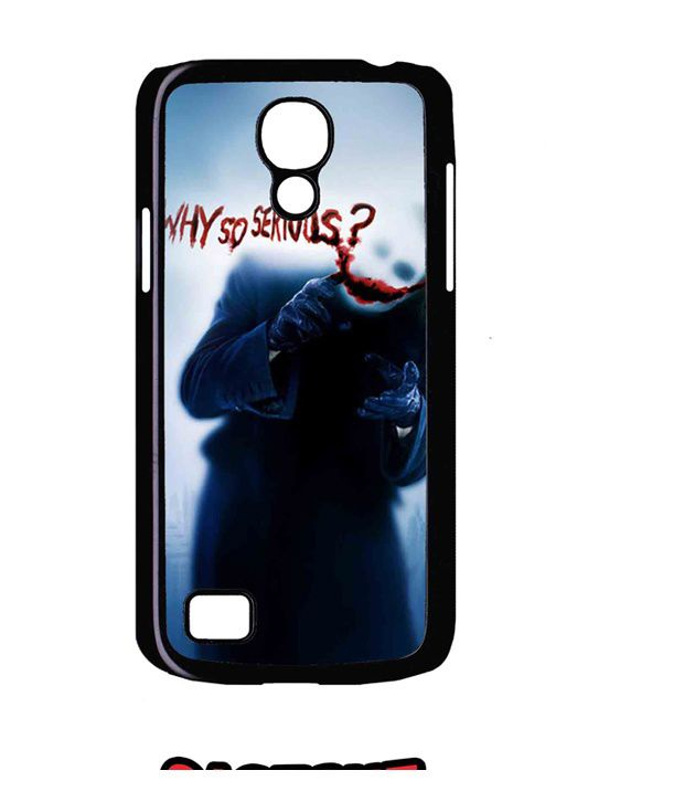 the latest d49d5 573a8 Caseque Why So Serious? Back Shell Case Cover for Samsung Galaxy S4 ...