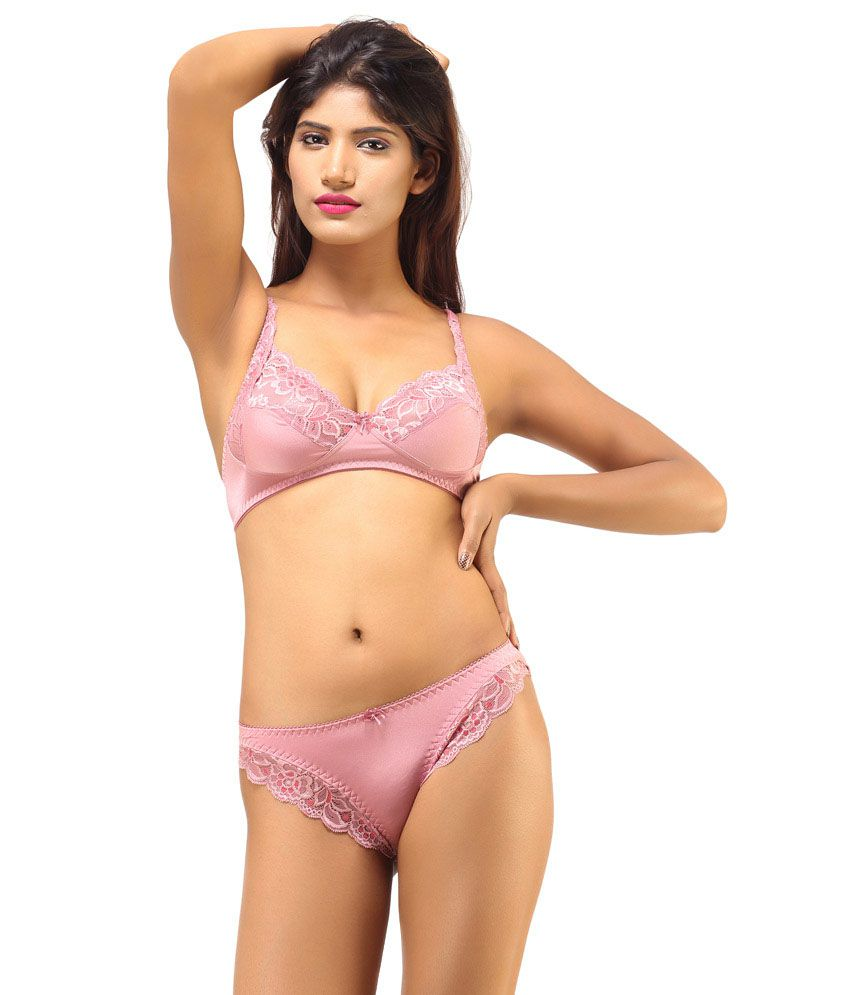 92fd212f052 Buy DesiHarem Multi Color Cotton Bra   Panty Sets Pack of 2 Online at Best  Prices in India - Snapdeal