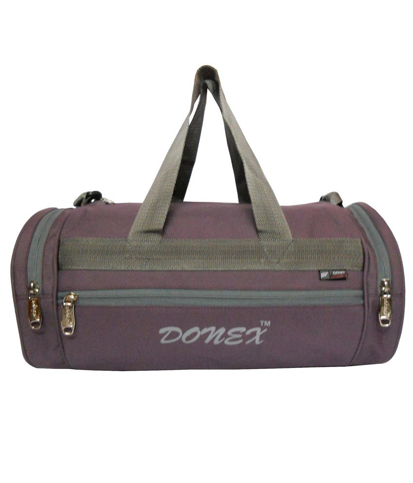 Donex Purple gear Gym Bag