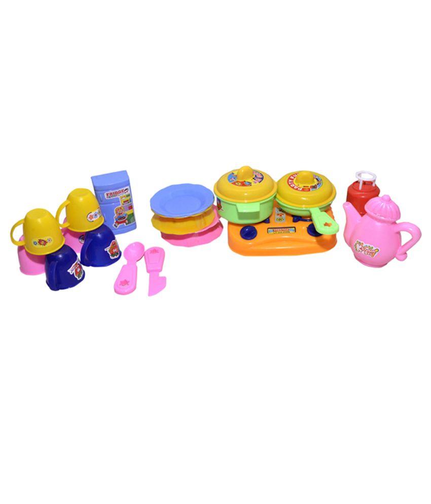 Kitchen Set Toys Price: E Soft Kitchen Set Toy With Free Doctor Set