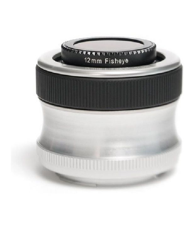 Lensbaby Scout With Fisheye Optic For Olympus Mount Digital Slr Cameras