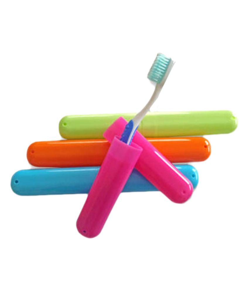 SOI Toothbrush Antibacterial Travel Covers - 4 pcs Set