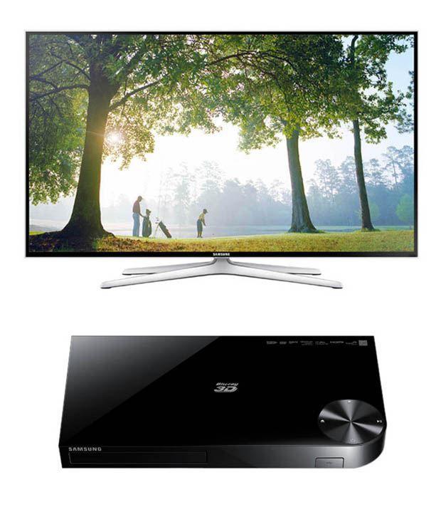Samsung 40H6400 101.6 cm (40) 3D Full HD Smart LED Television + Samsung H5500 3D Bluray Player