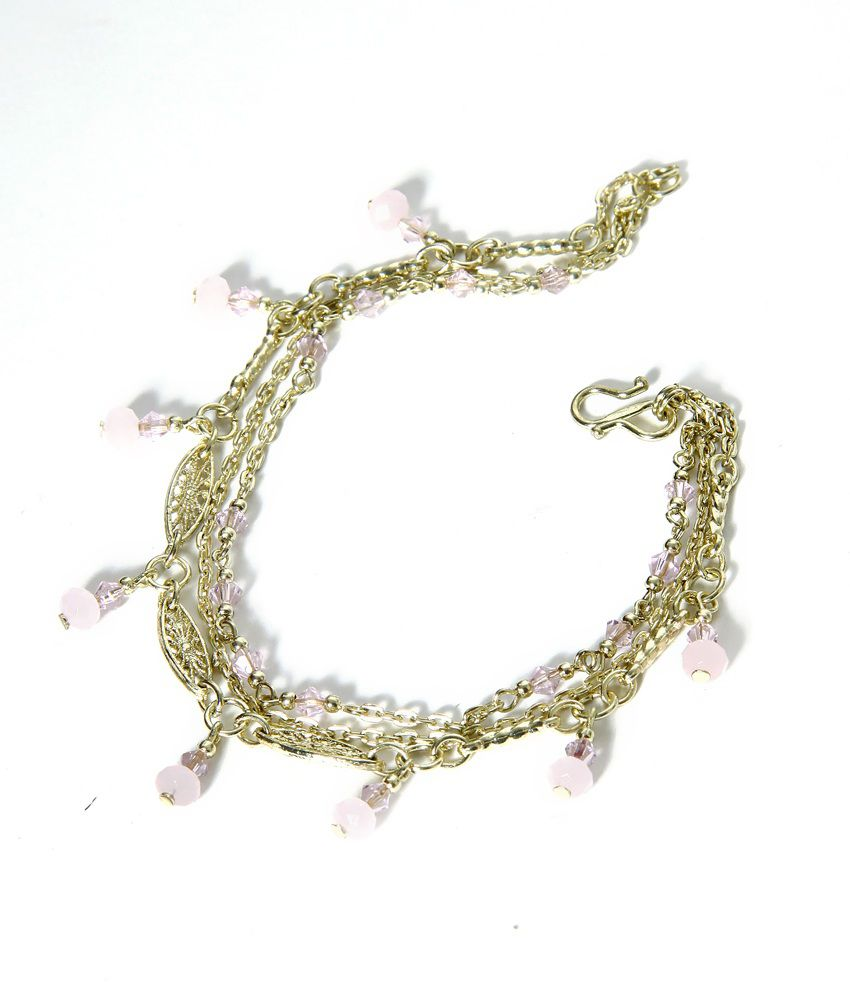 Zurii Golden String Anklet