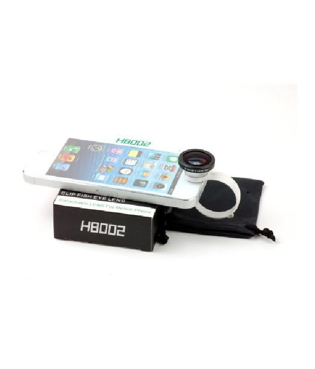 Bloobury Iphone Fisheye Lens (180 Degrees) For All Iphones, Ipad 2/3/mini, Android, Galaxy