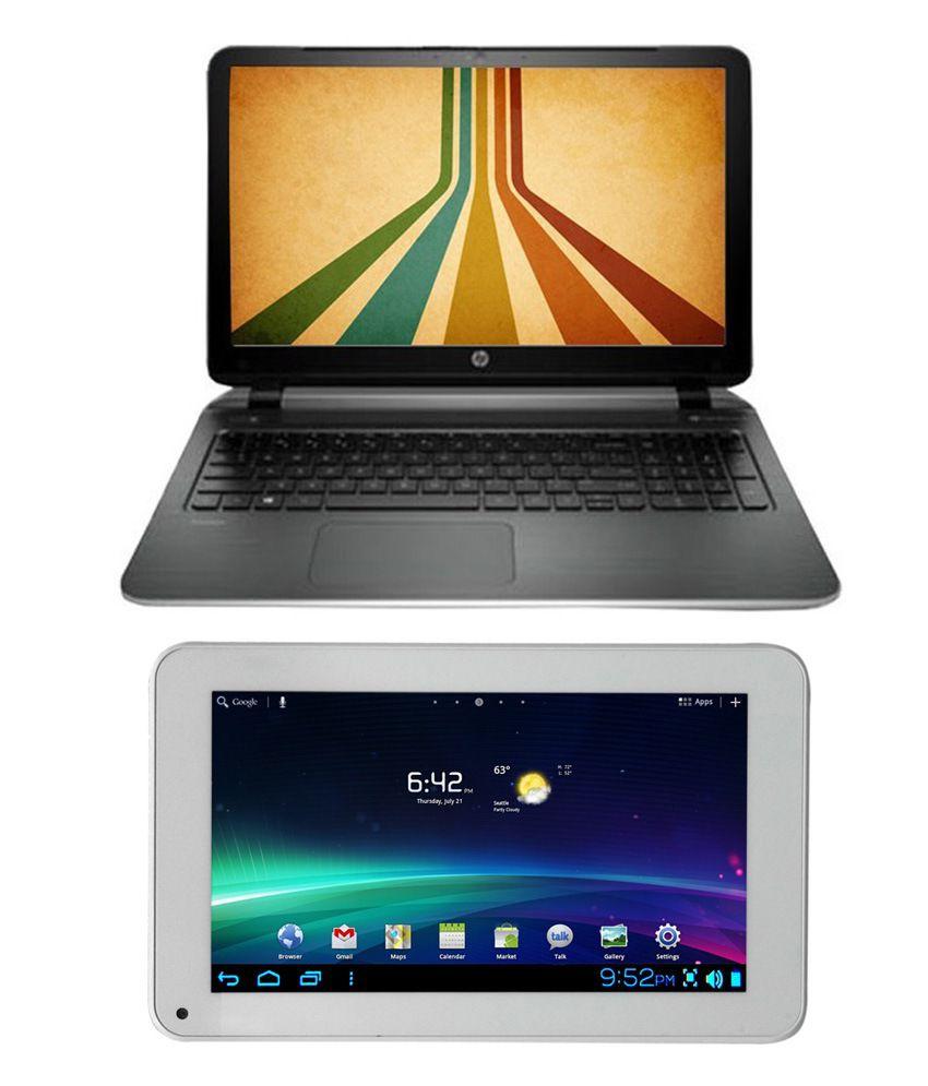Buy HP Pavilion 15-p073TX Laptop & Get Ambrane A707 Tablet Free