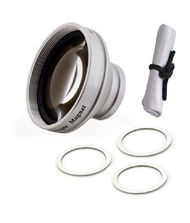 Iconcepts Kodak Zi8 0.45x Wide Angle With Macro (modification Style) Magnetic Lens + Cr...