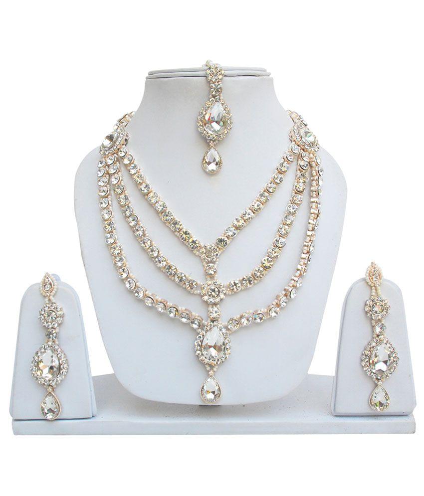 lucky jewellery wight rose patwa set buy lucky jewellery wight