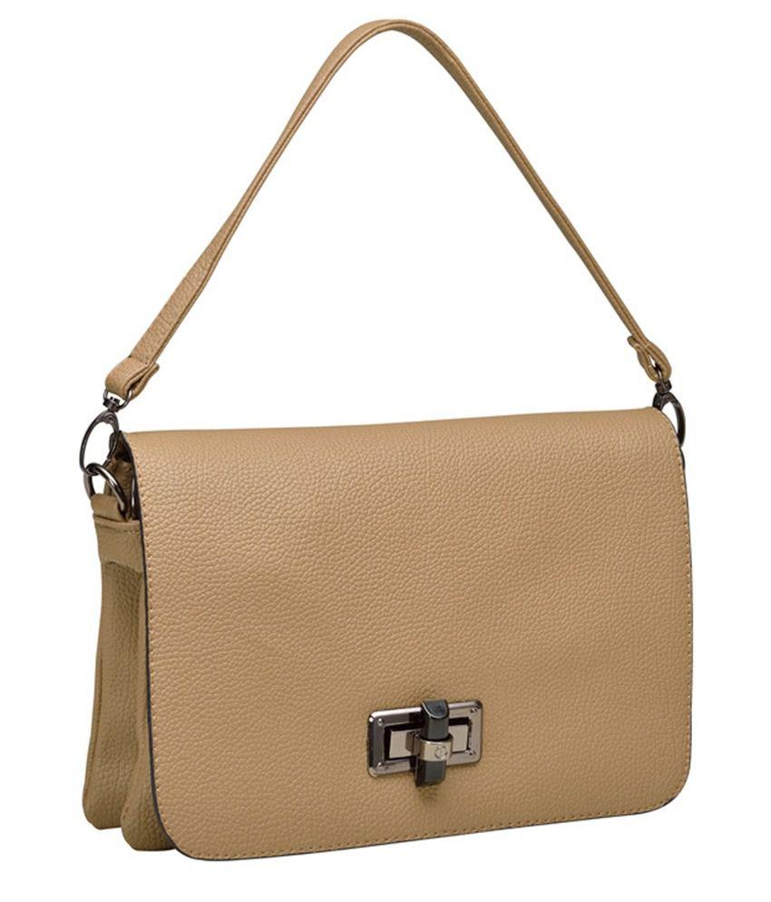 Mod'acc Wedv-0012kh Beige Shoulder Bags