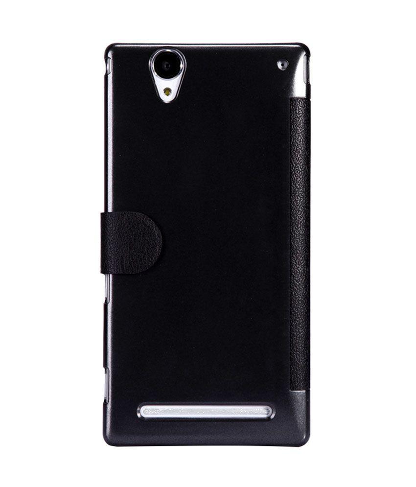 hot sale online 46935 5df87 Nillkin Flip Cover For Sony Xperia T2 Ultra / T2 Ultra Dual - Black
