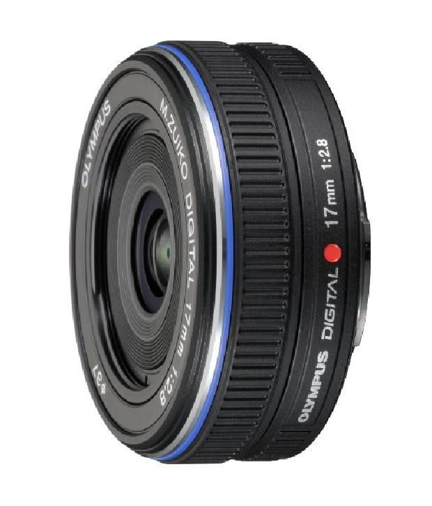 Olympus M.zuiko 17mm Lens (black)