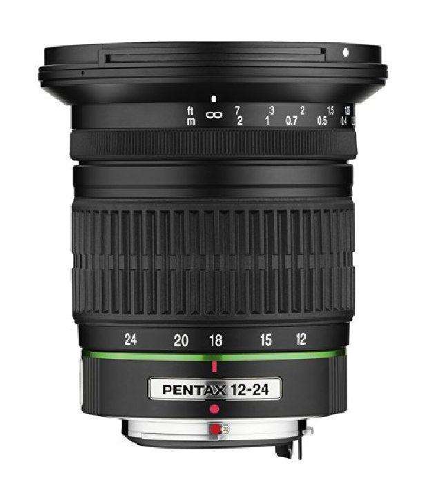 Pentax Da 12-24mm F/4 Ed Al (if) Lens For Pentax And Samsung Digital Slrs