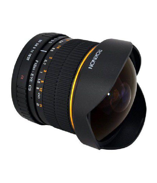 Rokinon Fe8m-s 8mm F3.5 Fisheye Lens For Sony Alpha (black)