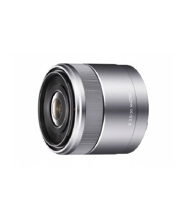 Sony Sel30m35 30mm F/3.5 E-mount Macro Lens