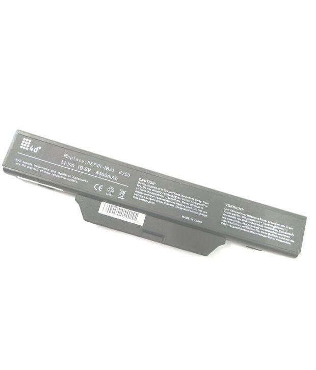 4d Hp Hstnn-xb52 6 Cell Laptop Battery
