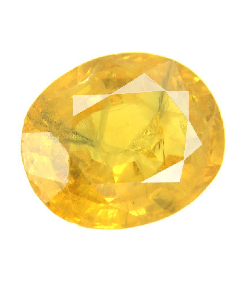 Bello Jewels Gis Certified 925 Ratti Yellow Sapphire Gemstone Buy