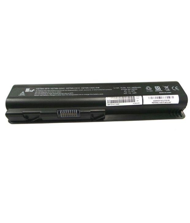 4d Hp Hstnn-db73 6 Cell Laptop Battery