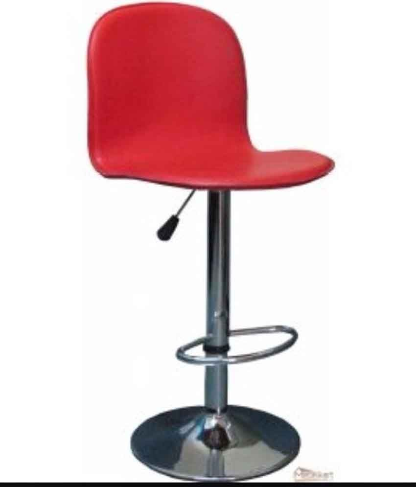 The Furniture Store Bar Stool In Red Best Price In India On 29th March 2018 Dealtuno