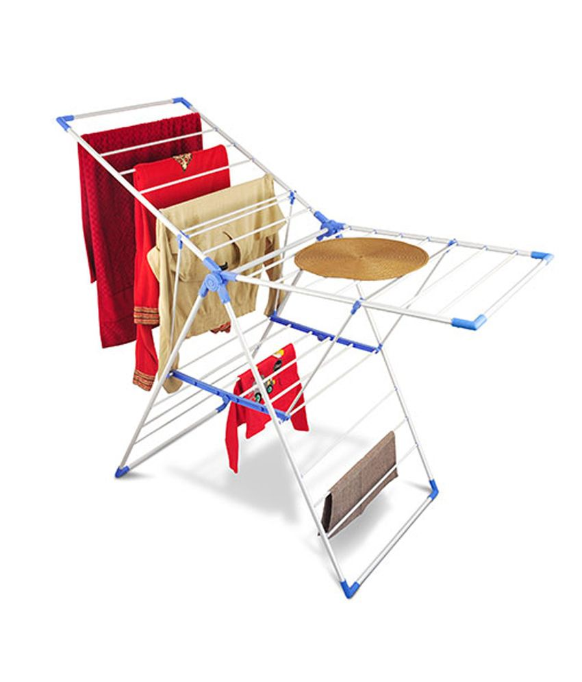 Bonita Geant Clothes Drying Stand In Blue Colour Buy