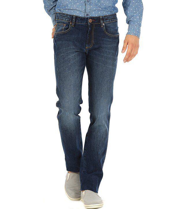 Basics Blue Slim  Jeans