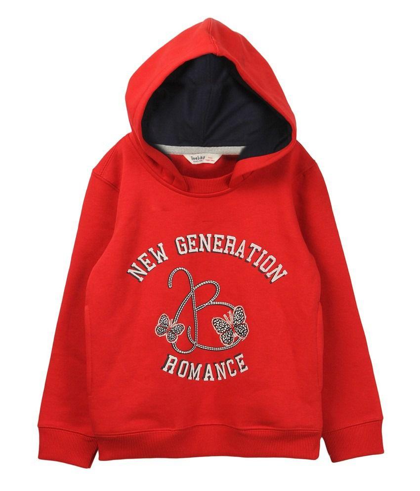 Beebay Girls New Generation Printed Sweatshirt