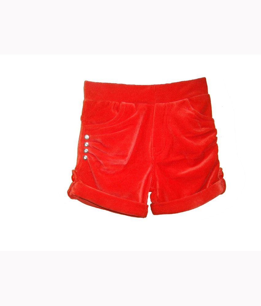Bodingo Red Velvet Shorts