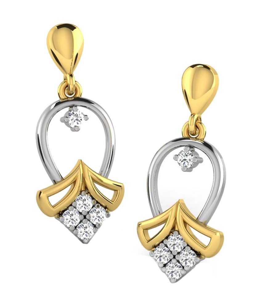 Sparkles 18kt Gorgeous Drop Earrings