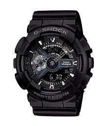 Men Fashion Black Shock Resistant Sports watch - G317