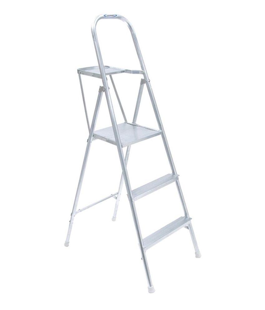 Altec Werner White Aluminium Lightweight Ladder Buy Altec
