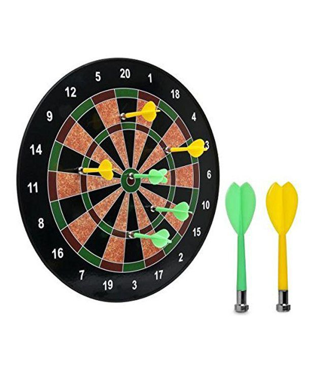 And Retails Target Bull's Eye 16 Inches Magnetic Dart Board