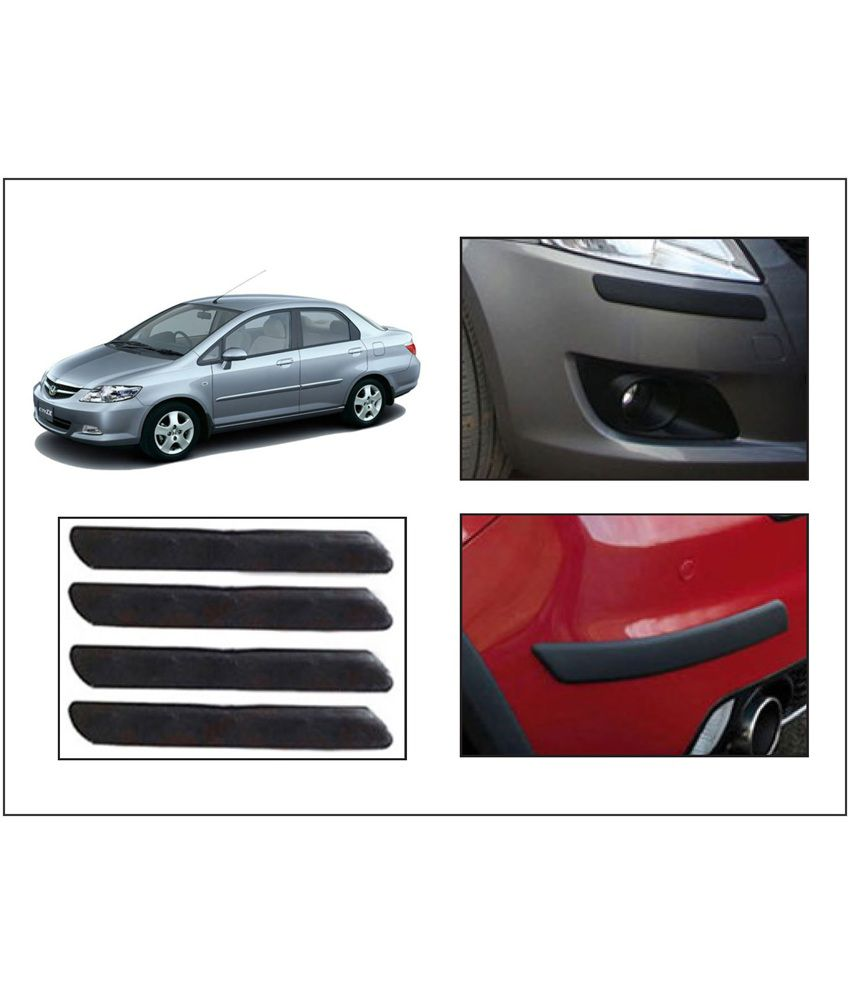 Flomaster Car Bumper Safety Protection Guard Honda City Zx Set Of 4