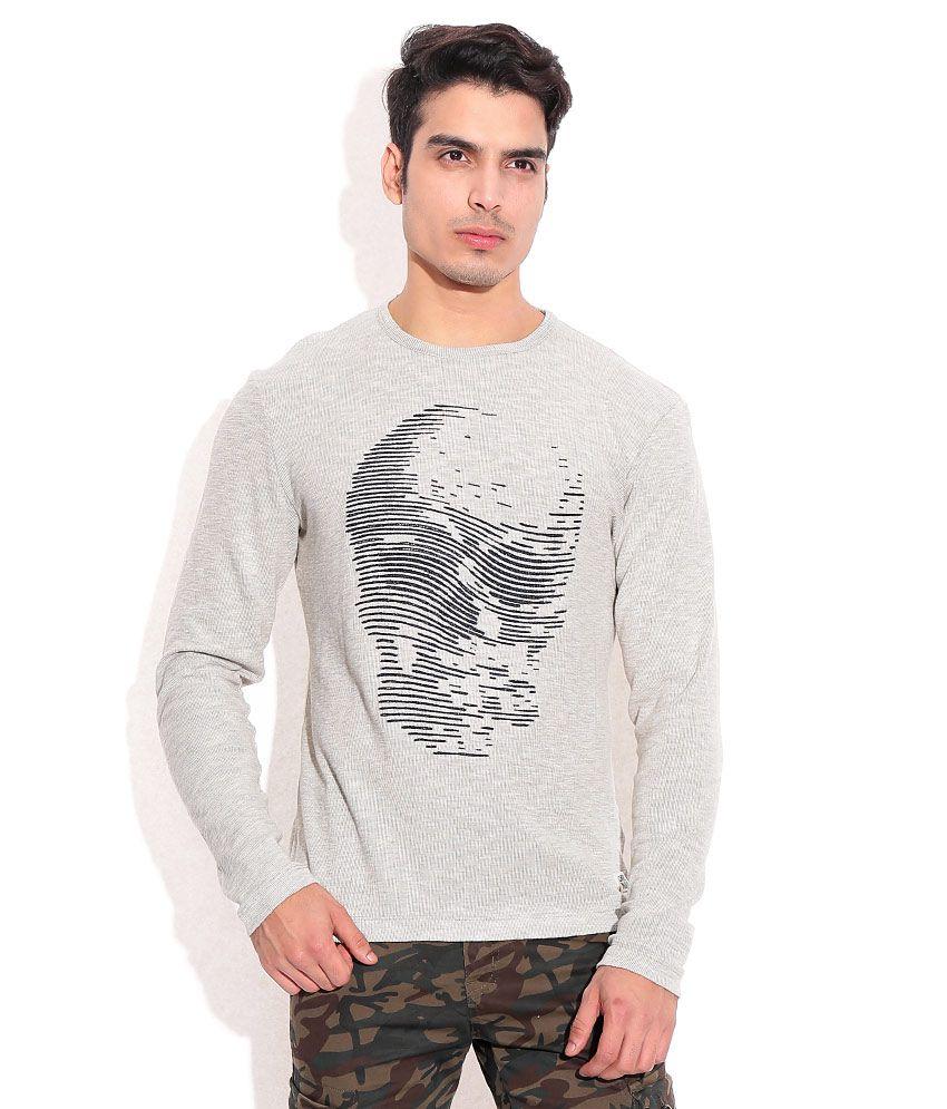 Jack & Jones Gray  T-Shirt