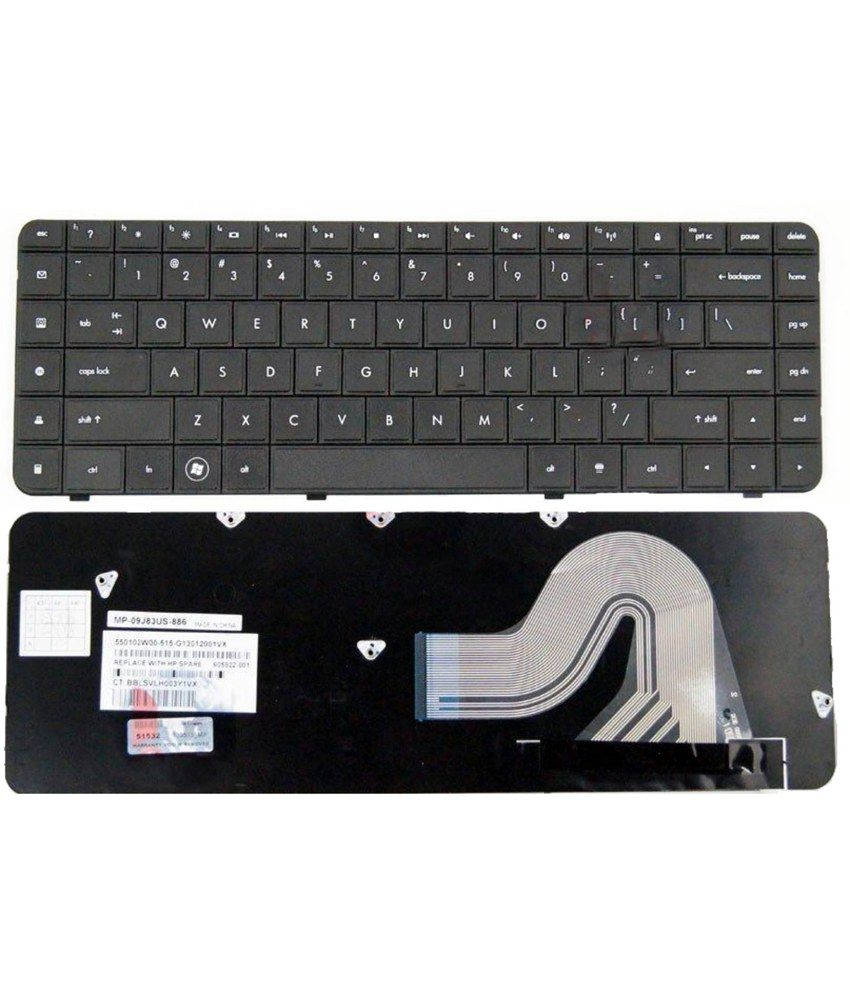 Lap Gadgets Hp Pavilion G62-125el Laptop Keyboard With Free Keyboard Protector Skin