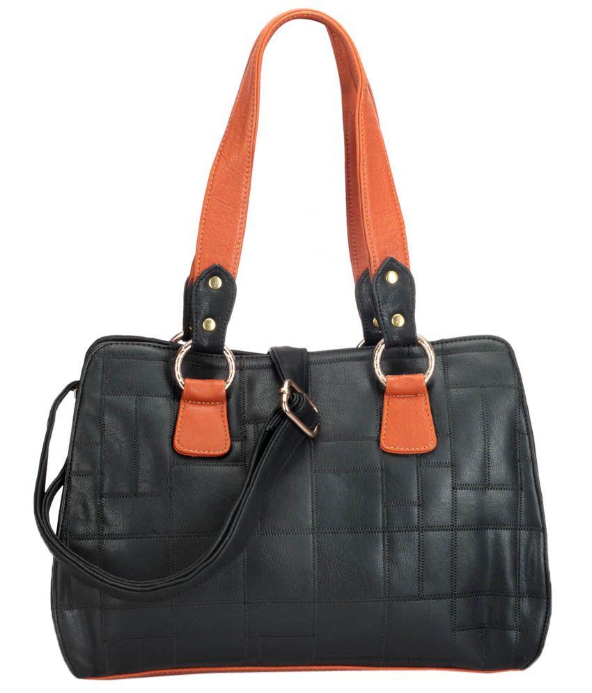 Bags Craze BC-ONLB-284 Black Shoulder Bags