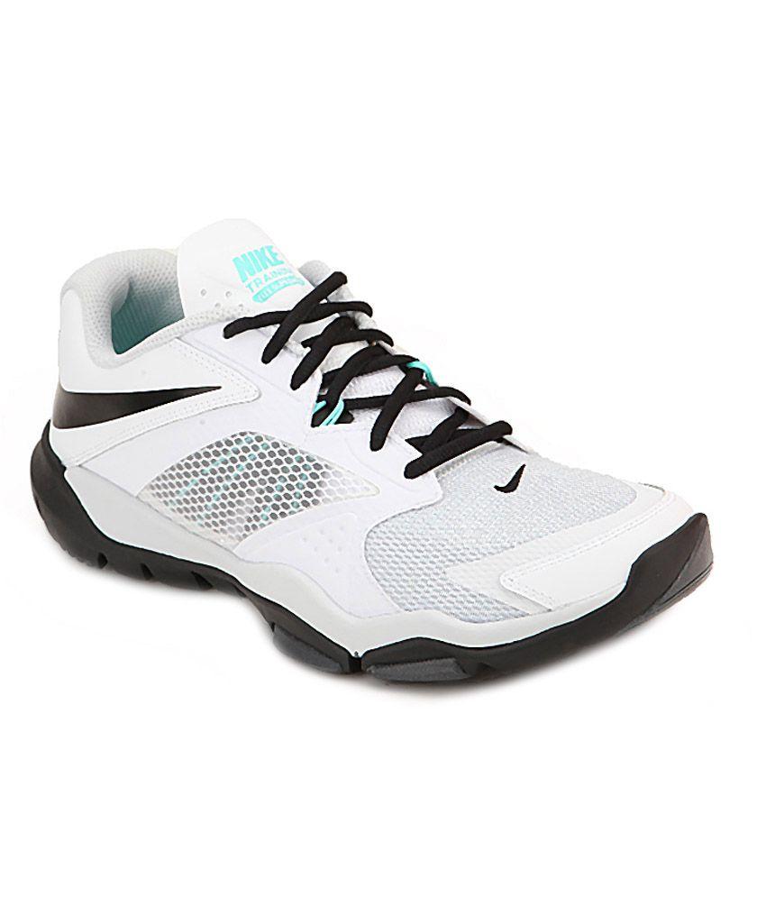 official photos e8027 fe4ba Nike White Mesh Textile Running Sport Shoes - Buy Nike White Mesh Textile  Running Sport Shoes Online at Best Prices in India on Snapdeal