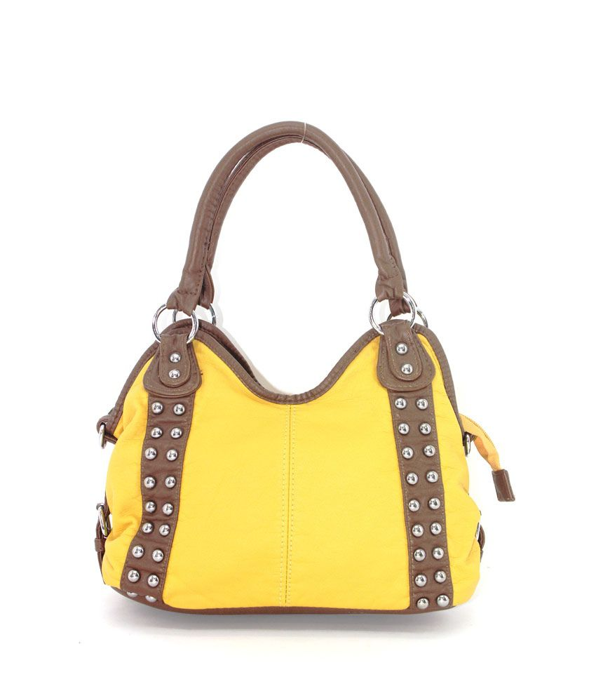 Plasto Art Yellow Women's Handbag (458)
