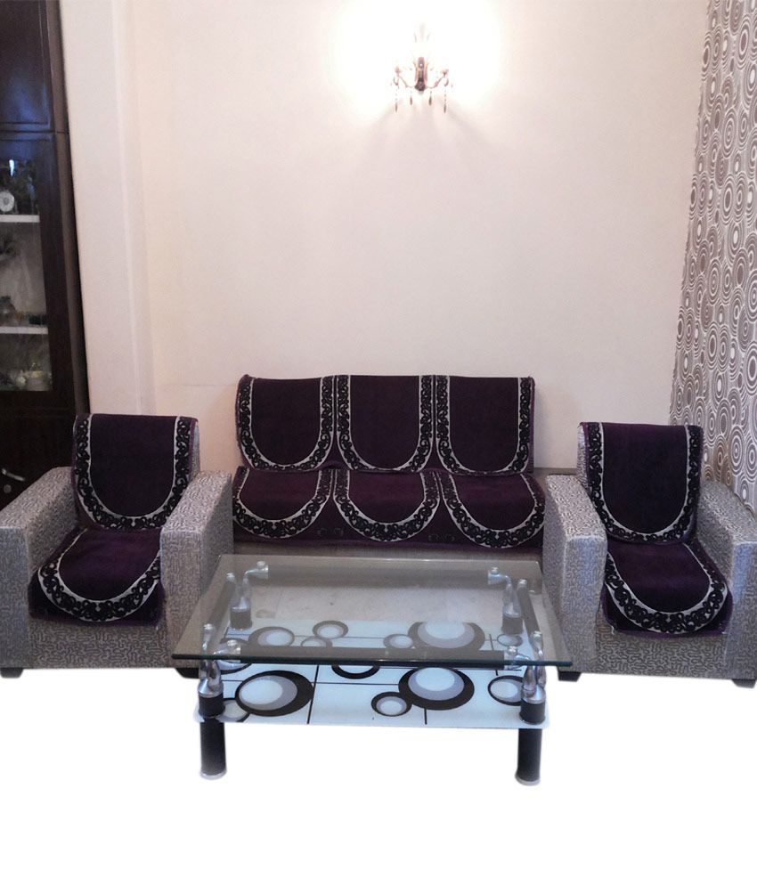 Shc Chahak Rust Sofa Cover Set Best Price In India On 11th